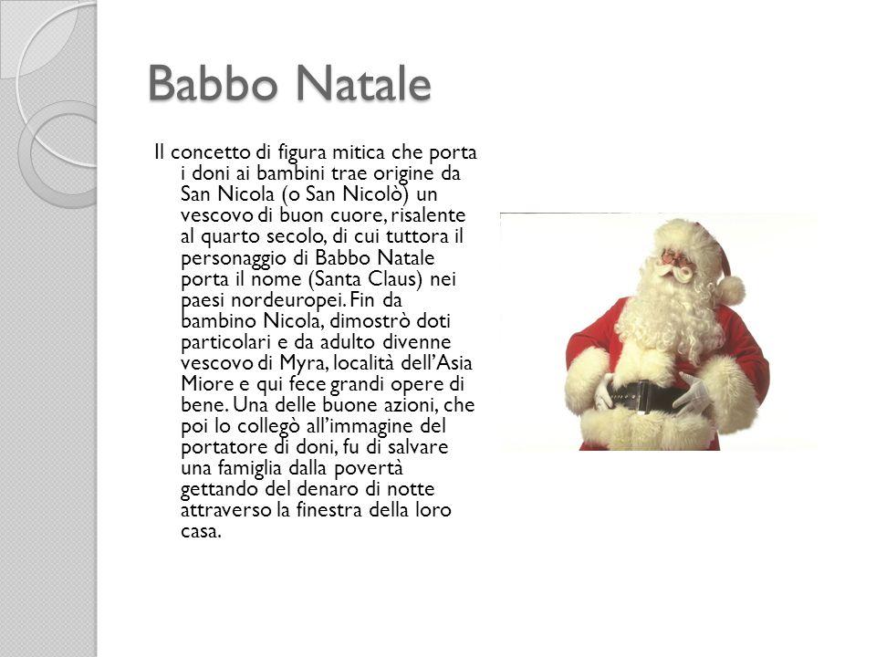 Natale la nascita di ges ppt scaricare - Babbo natale porta i regali ai bambini ...
