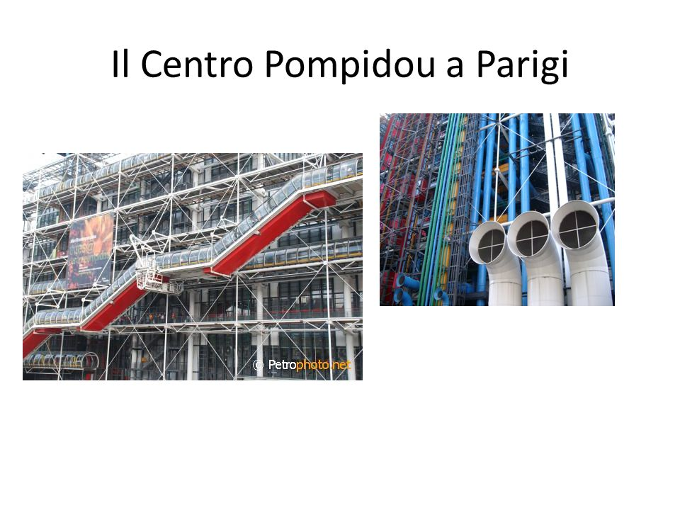 Il Centro Pompidou a Parigi