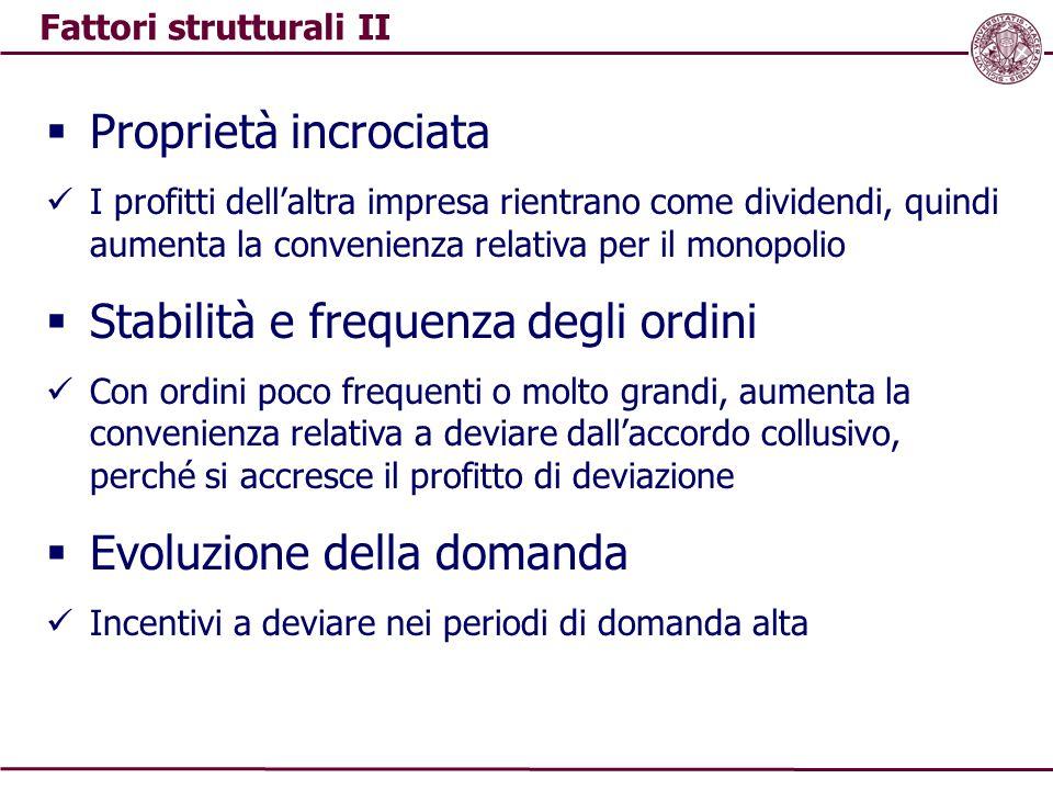 Fattori strutturali II