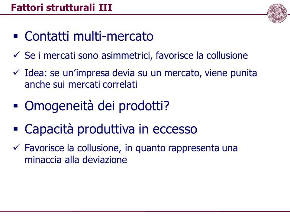 Fattori strutturali III