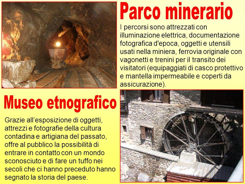 Parco minerario Museo etnografico