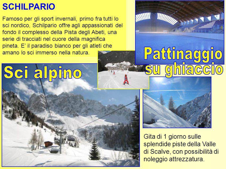 Pattinaggio su ghiaccio Sci alpino SCHILPARIO