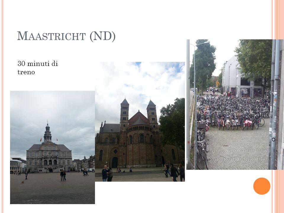 Maastricht (ND) 30 minuti di treno