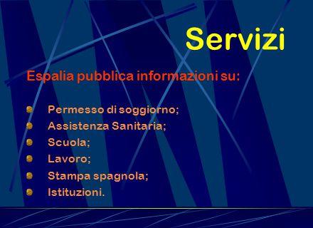 Servizi Espalia pubblica informazioni su: Permesso di soggiorno;