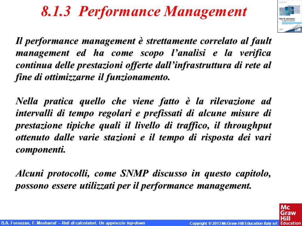 8.1.3 Performance Management