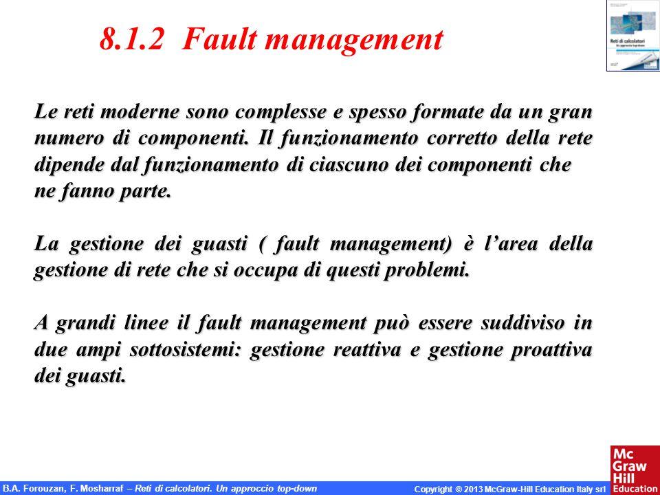 8.1.2 Fault management
