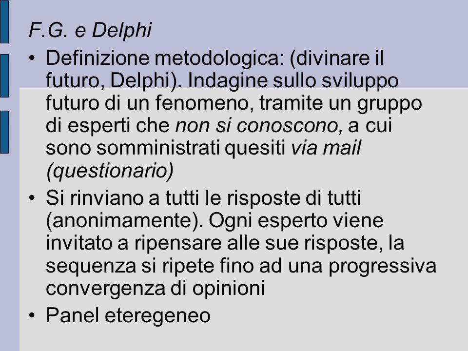 F.G. e Delphi