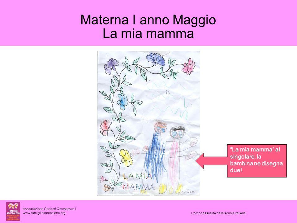 Materna I anno Maggio La mia mamma
