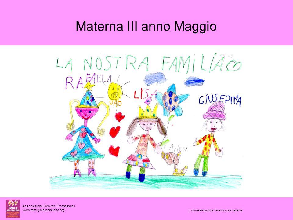Materna III anno Maggio