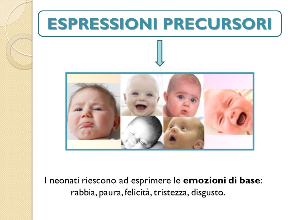 ESPRESSIONI PRECURSORI