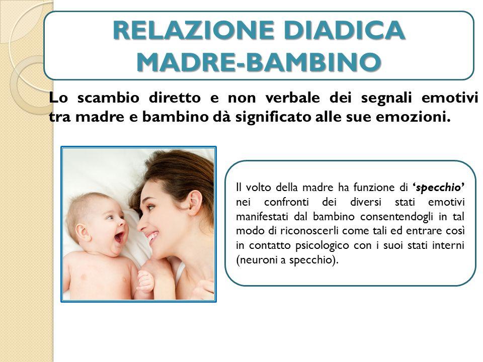 RELAZIONE DIADICA MADRE-BAMBINO