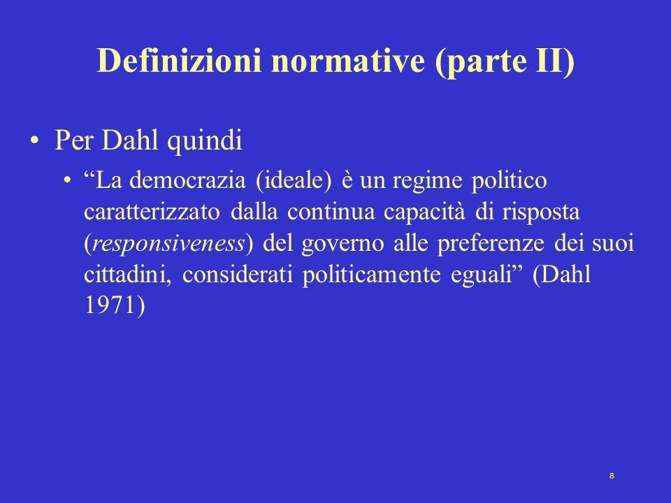 Definizioni normative (parte II)