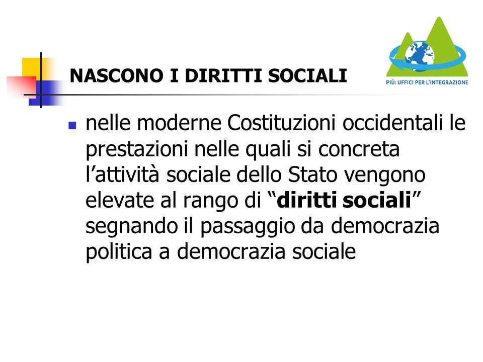 NASCONO I DIRITTI SOCIALI
