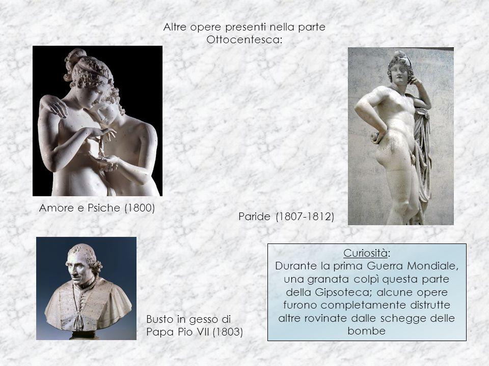 Altre opere presenti nella parte Ottocentesca: