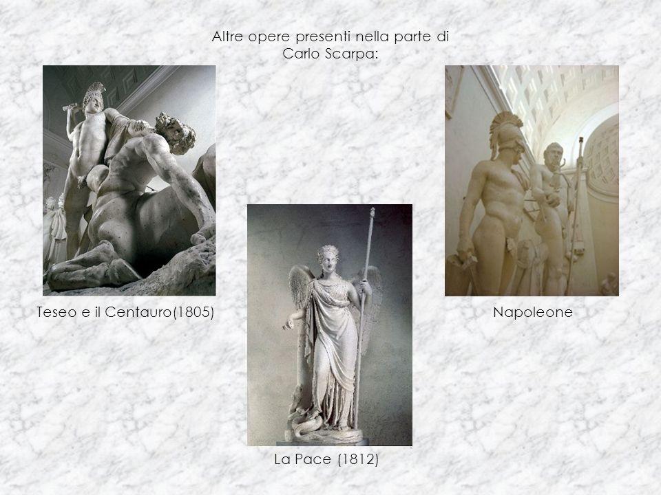 Altre opere presenti nella parte di Carlo Scarpa: