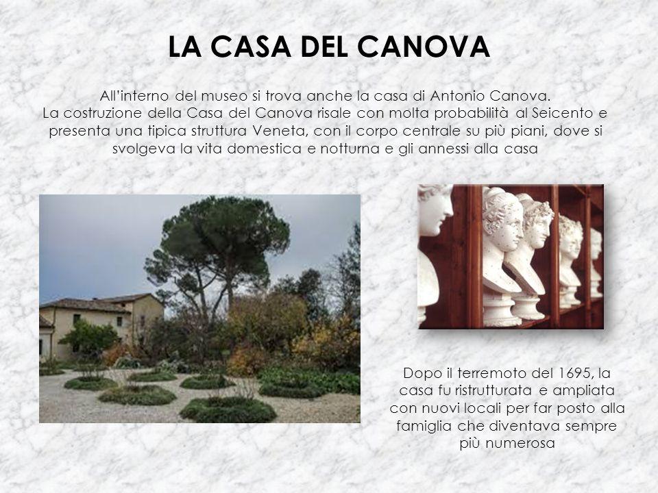 All'interno del museo si trova anche la casa di Antonio Canova.