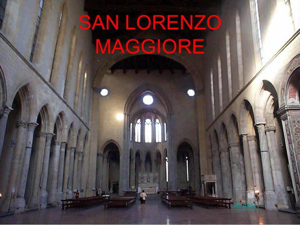 SAN LORENZO MAGGIORE AVANTI