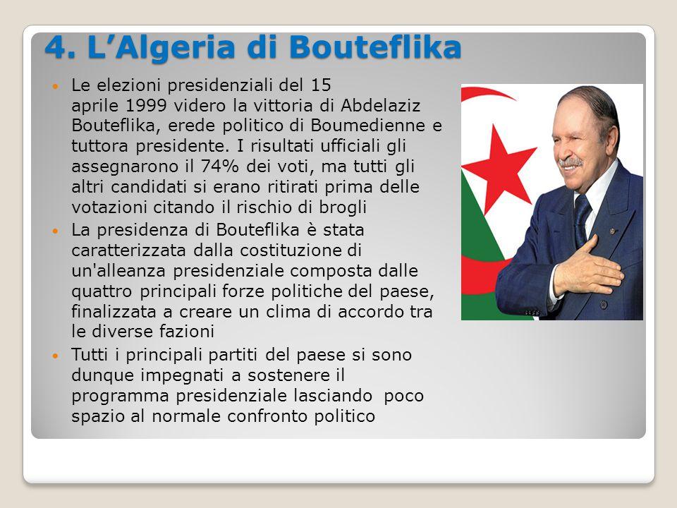 4. L'Algeria di Bouteflika