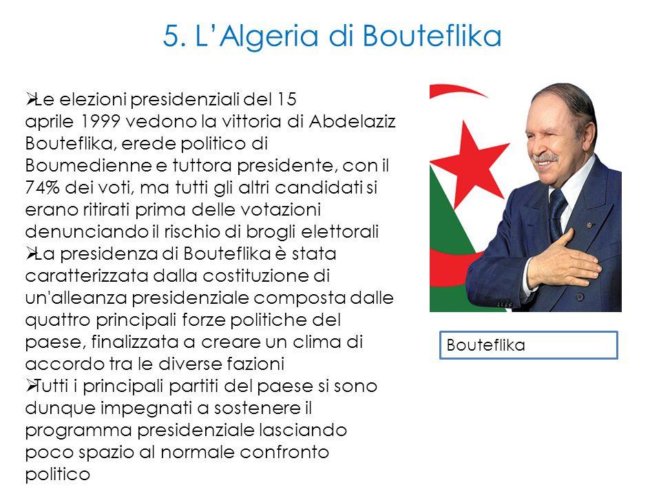 5. L'Algeria di Bouteflika