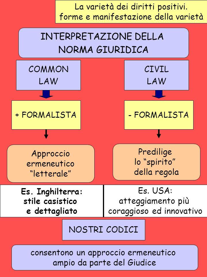 INTERPRETAZIONE DELLA NORMA GIURIDICA