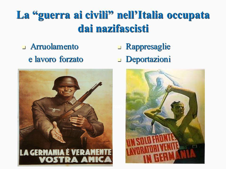La guerra ai civili nell'Italia occupata dai nazifascisti