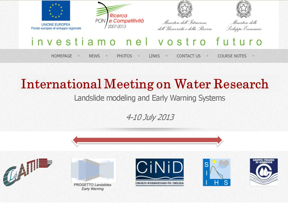 International Meeting on Water Research