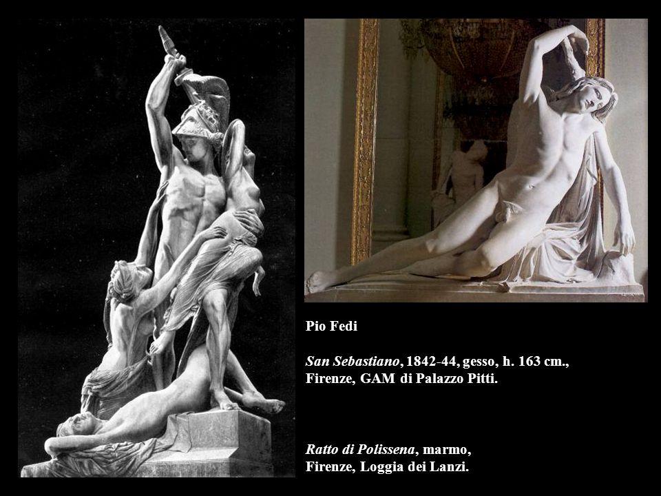 Pio Fedi San Sebastiano, 1842-44, gesso, h. 163 cm
