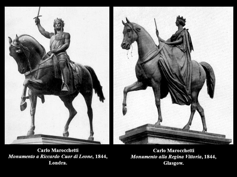 Carlo Marocchetti Monumento a Riccardo Cuor di Leone, 1844, Londra.