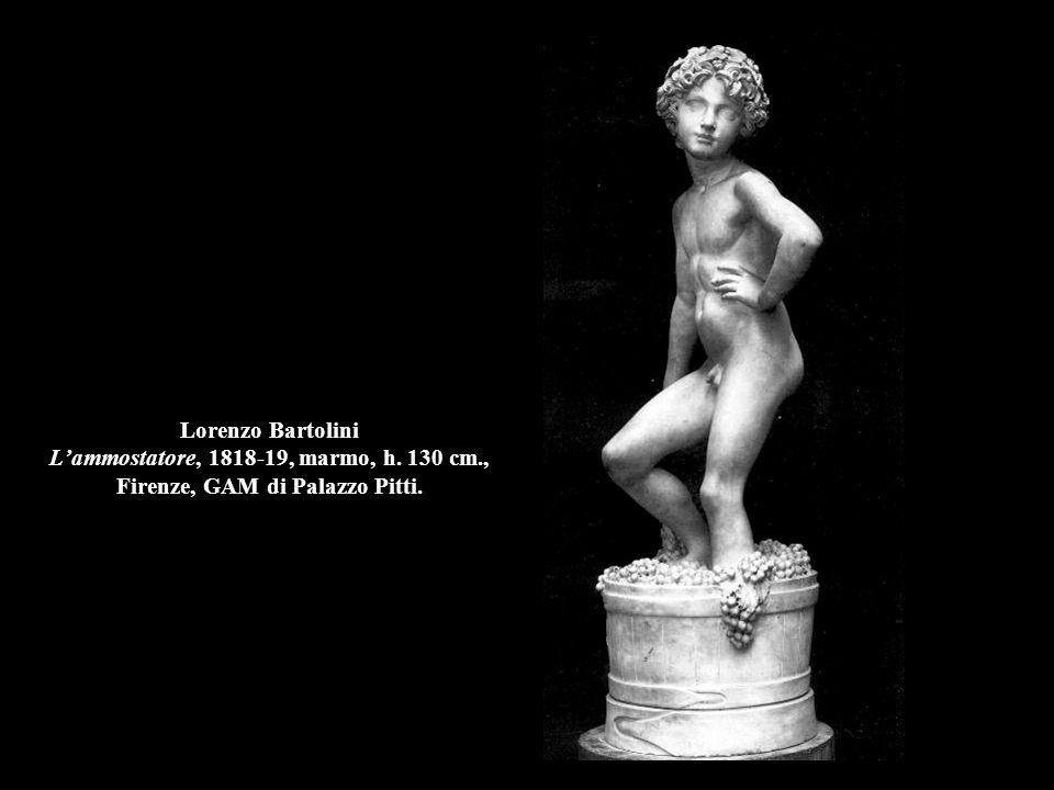 Lorenzo Bartolini L'ammostatore, 1818-19, marmo, h. 130 cm