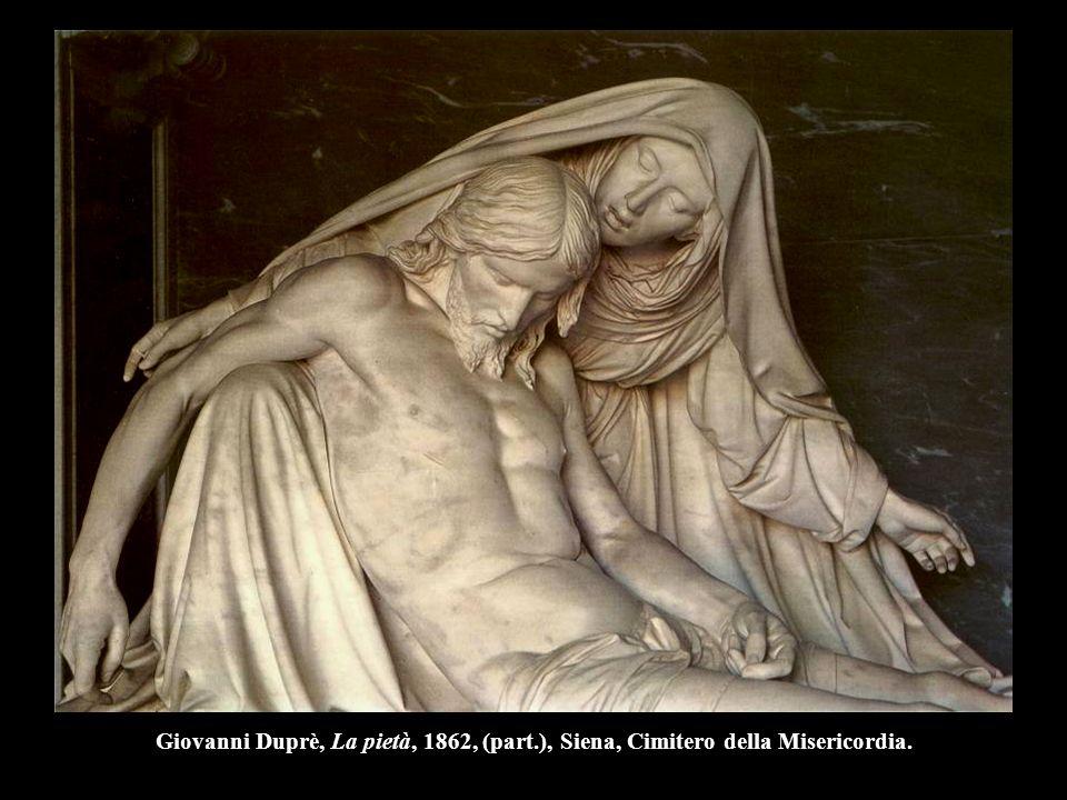 Giovanni Duprè, La pietà, 1862, (part