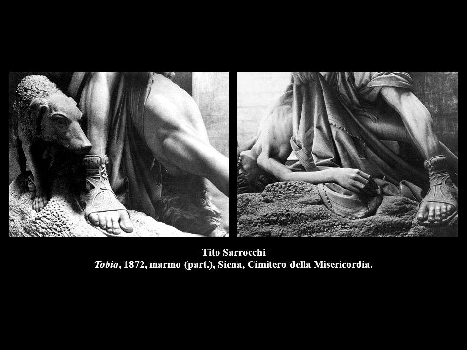 Tito Sarrocchi Tobia, 1872, marmo (part