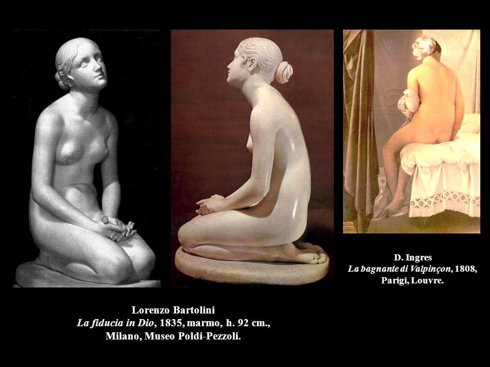 D. Ingres La bagnante di Valpinçon, 1808, Parigi, Louvre.