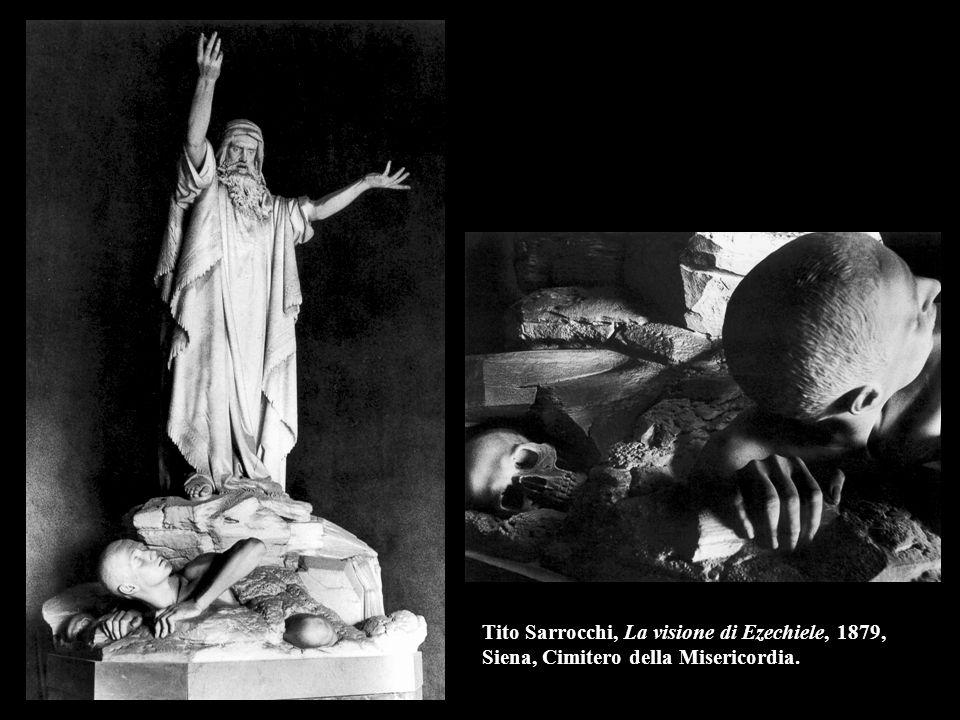 Tito Sarrocchi, La visione di Ezechiele, 1879, Siena, Cimitero della Misericordia.