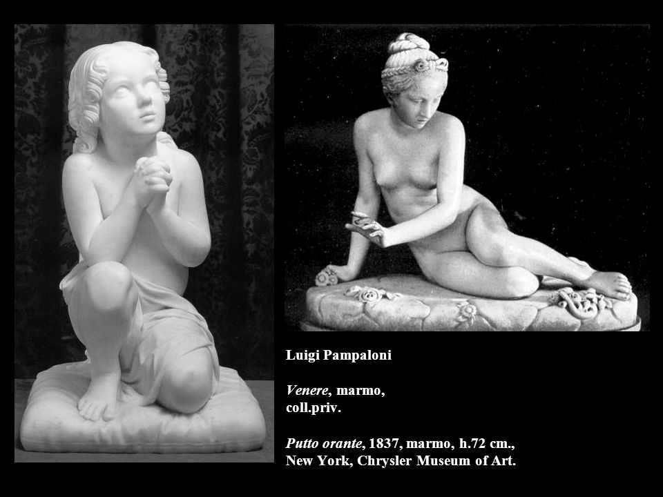 Luigi Pampaloni Venere, marmo, coll.priv.