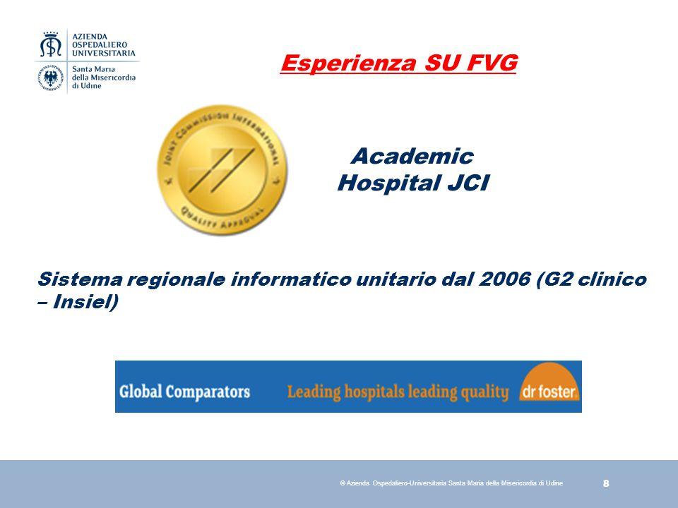 Esperienza SU FVG Academic Hospital JCI
