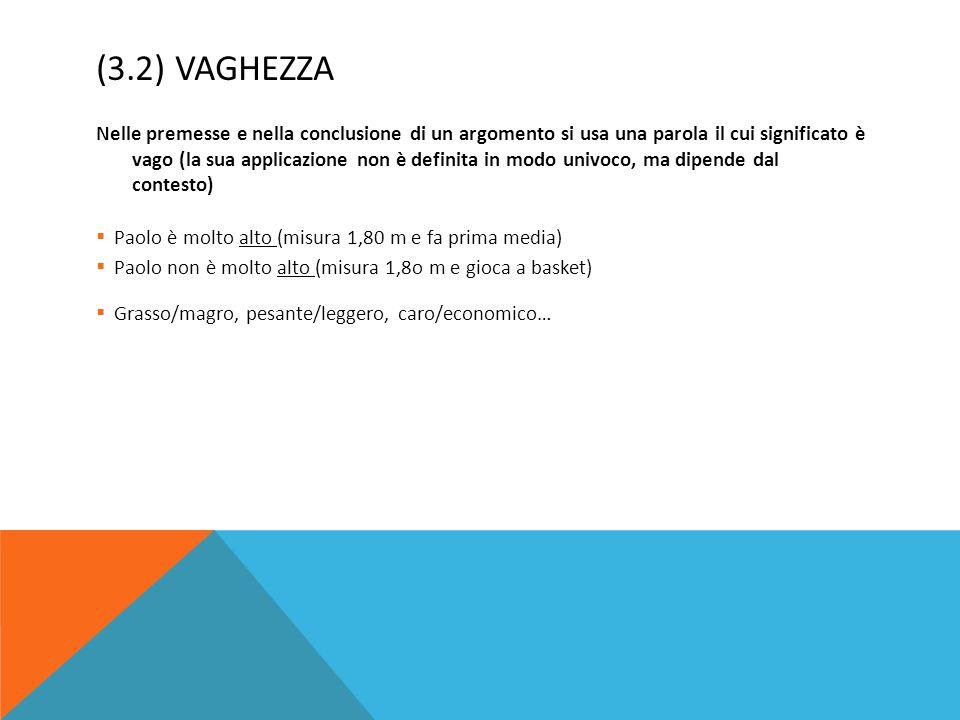 (3.2) Vaghezza