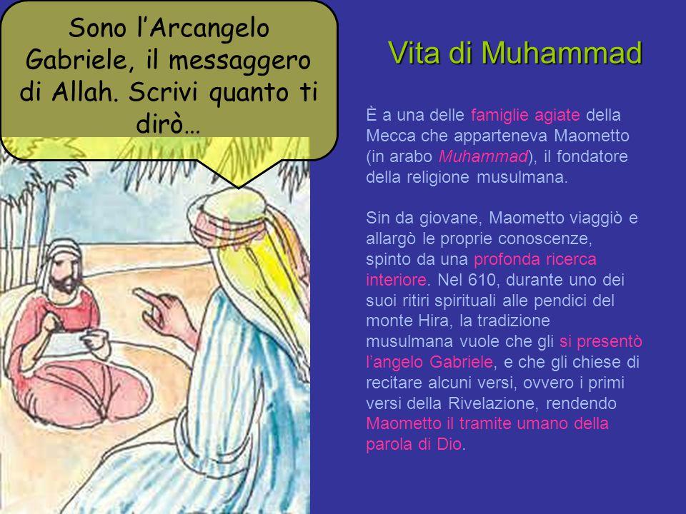 Sono l'Arcangelo Gabriele, il messaggero di Allah