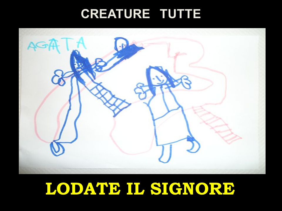 CREATURE TUTTE LODATE IL SIGNORE