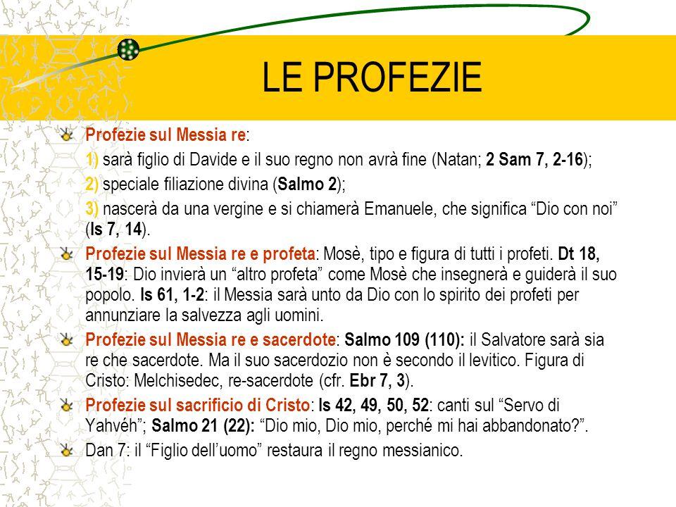 LE PROFEZIE Profezie sul Messia re: