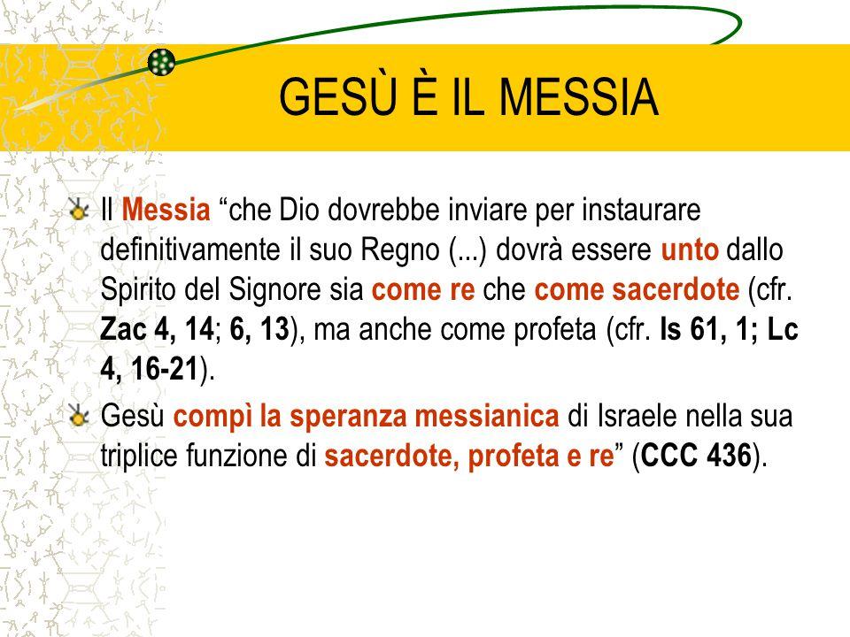 GESÙ È IL MESSIA