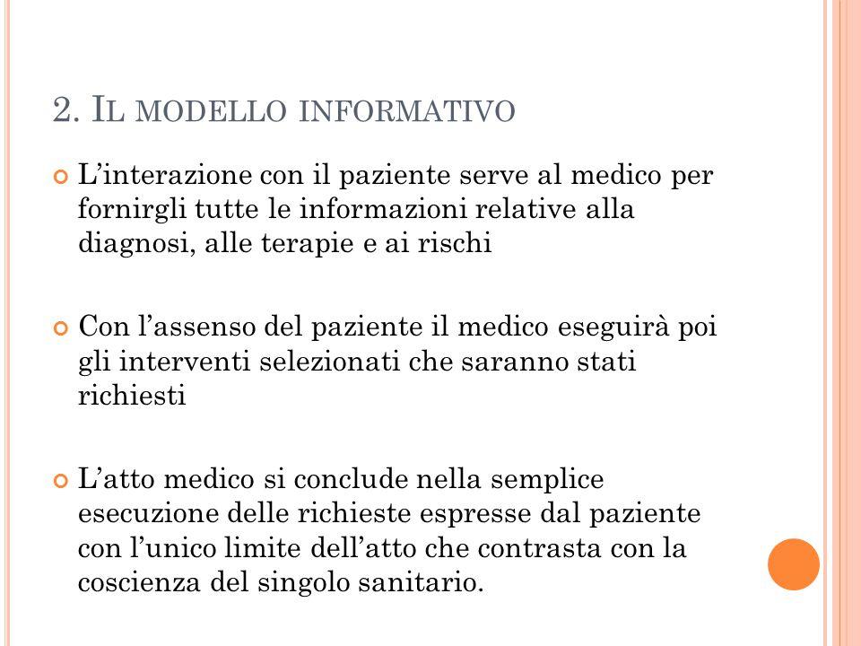 2. Il modello informativo