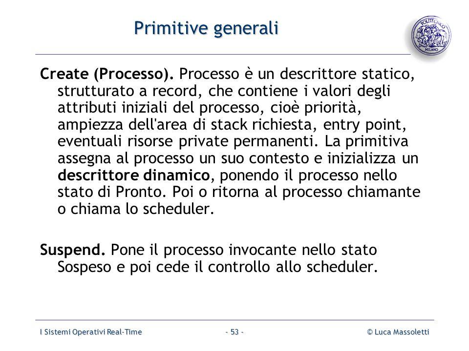 Primitive generali