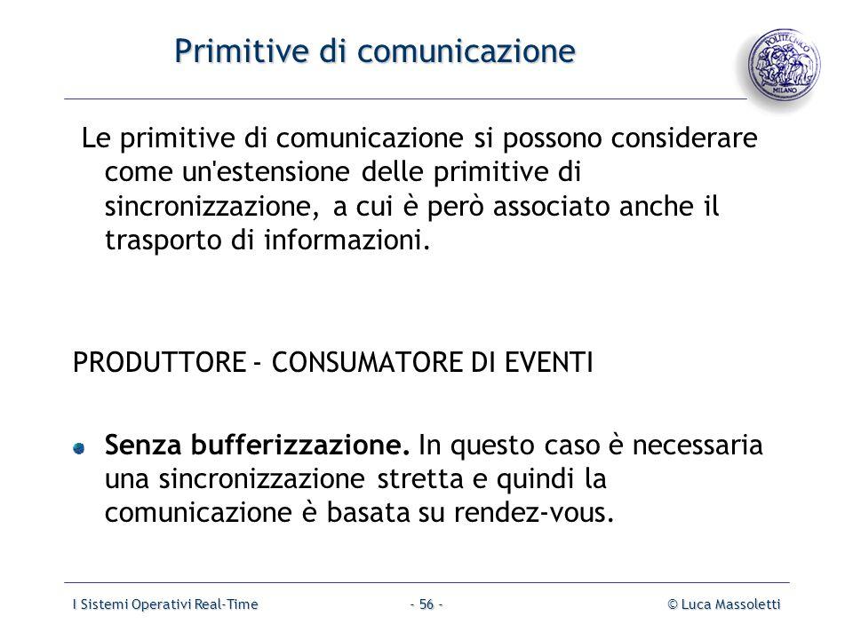 Primitive di comunicazione