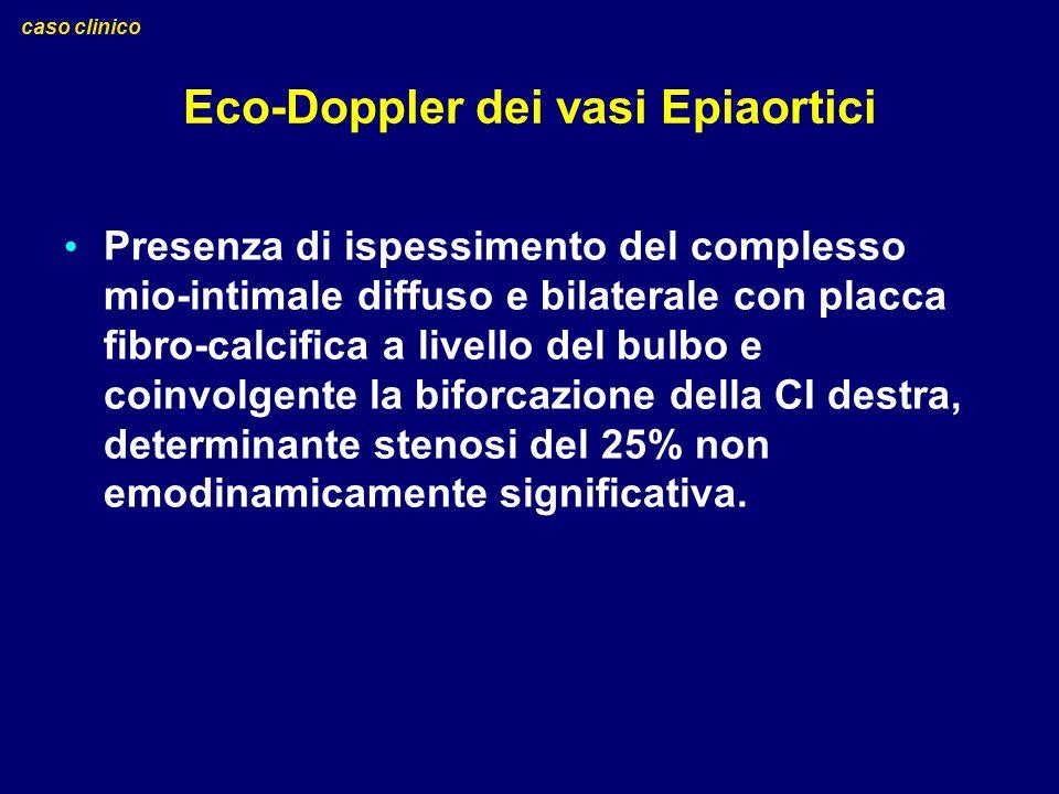Eco-Doppler dei vasi Epiaortici