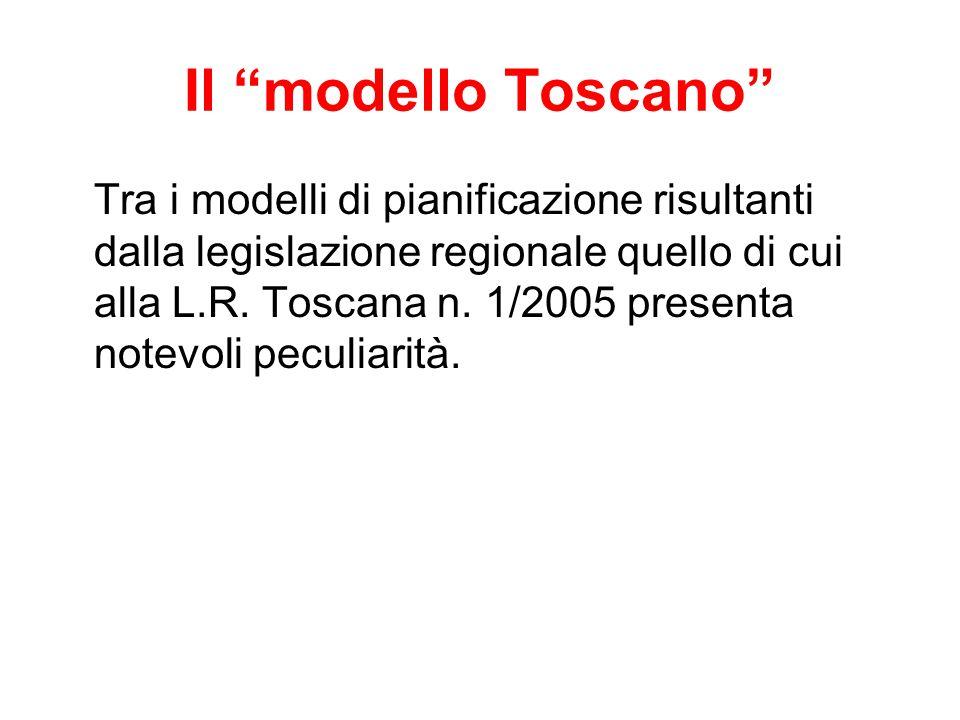 Il modello Toscano