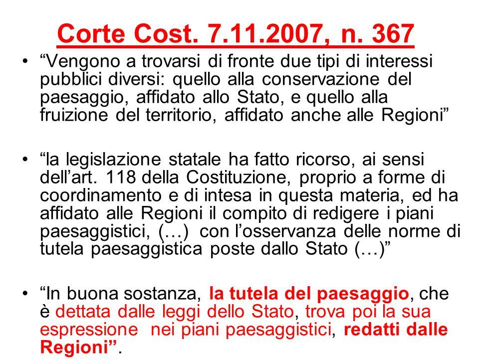 Corte Cost. 7.11.2007, n. 367