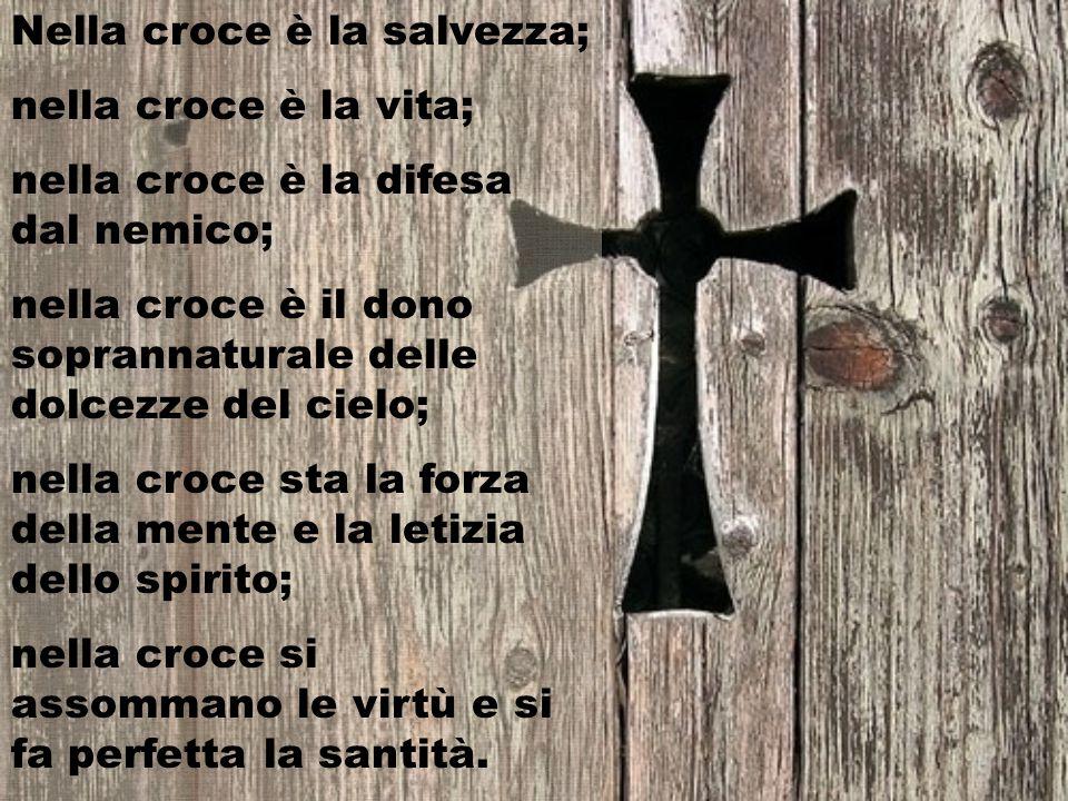 Nella croce è la salvezza;