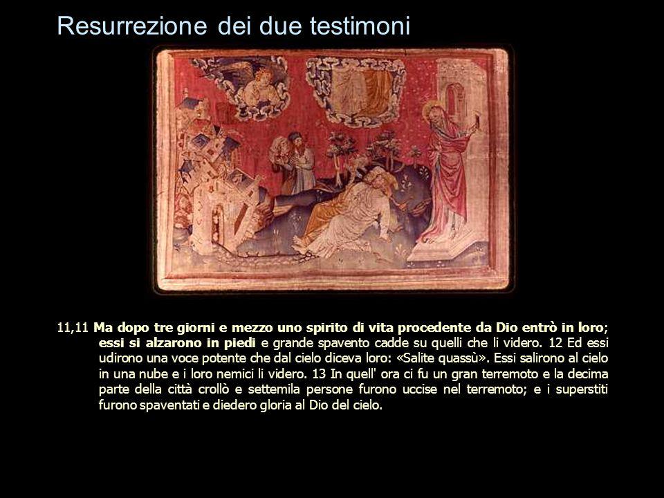 Resurrezione dei due testimoni