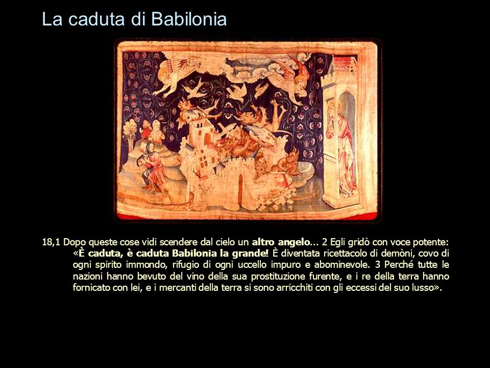La caduta di Babilonia