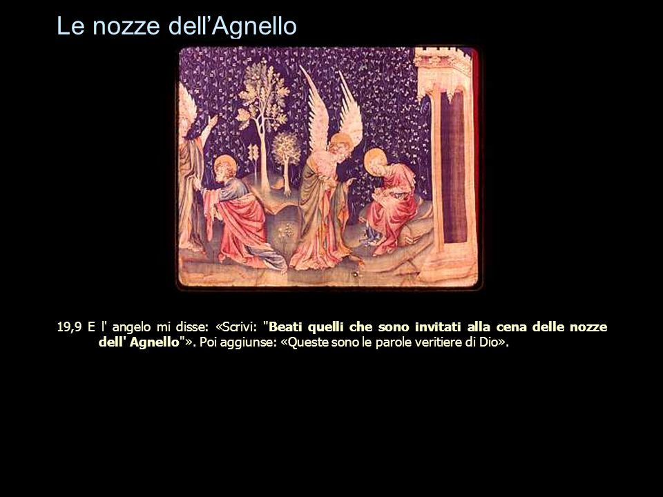 Le nozze dell'Agnello